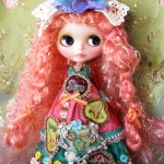 ローズ色の染髪に初挑戦っ!~「春の森の物語」